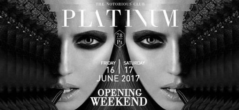 Platinum Opening Weekend