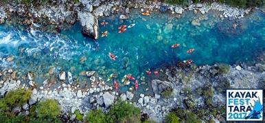 Kayak Fest на реке Тара 2017