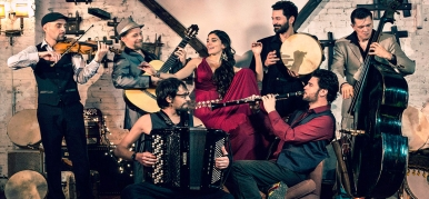 Концерт группы Barcelona Gipsy balKan Orchestra (Испания)