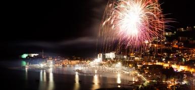 New 2018 year in Budva
