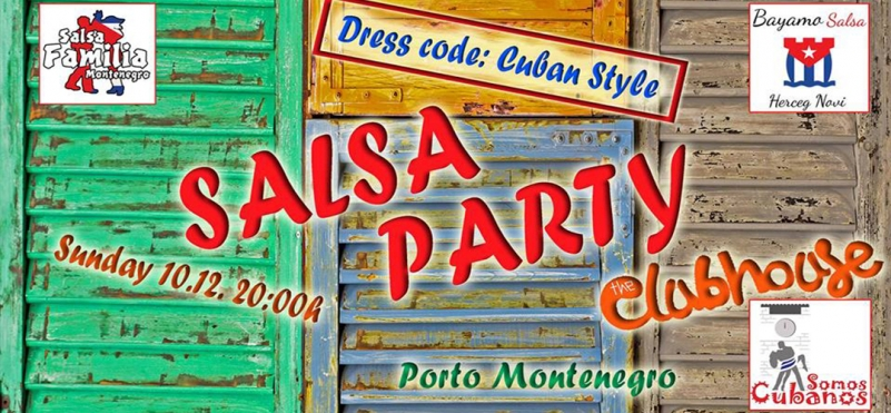 Salsa Party in Porto Montenegro