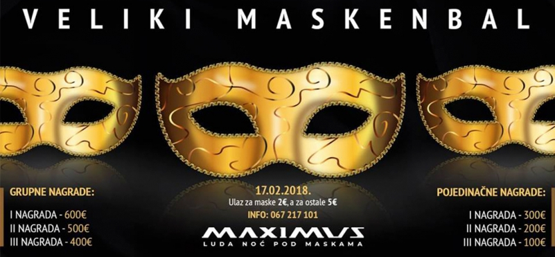 Traditional Masquerade at Maximus Club