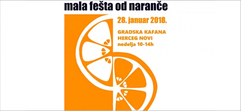 Small Festival of oranges in Herceg-Novi