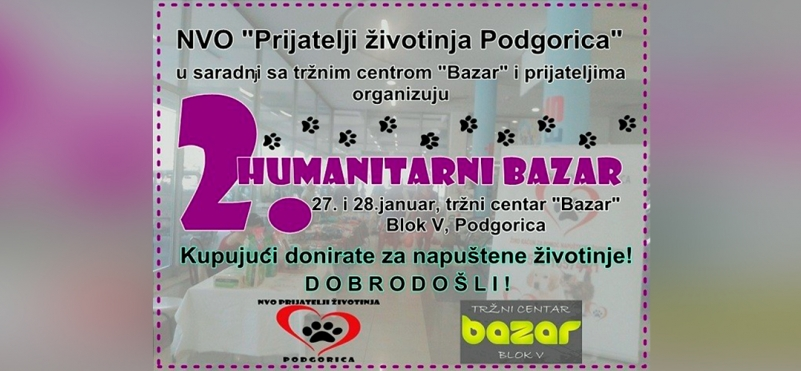 Charity Bazaar - Friends are helping animals again