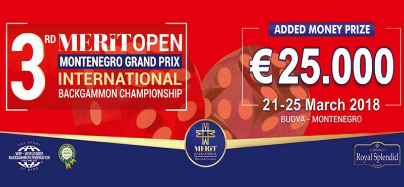 3rd International Backgammon Tournament - Montenegro Grand Prix