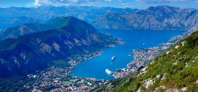 Climbing the mountain peaks of Montenegro