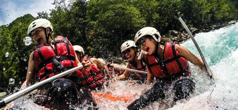 Rafting on the Tara river!