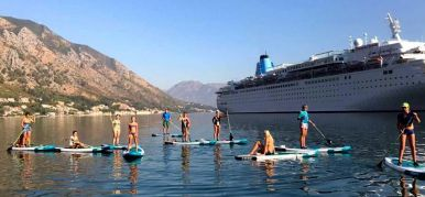 Hiking on SUP's in Montenegro
