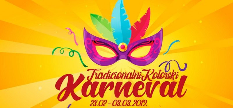 Traditional winter Kotor Carnival 2019