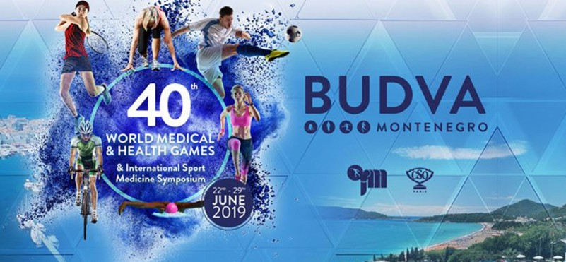 40th World Medical and Wellness Games 2019