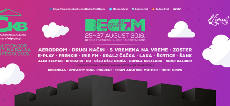 7 Festival of Balkan rock music Bedem Fest