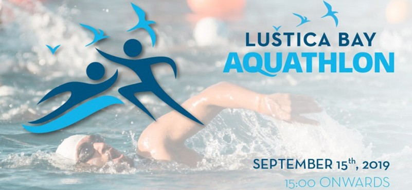 1st Aquatlon Competition in Lustica Bay