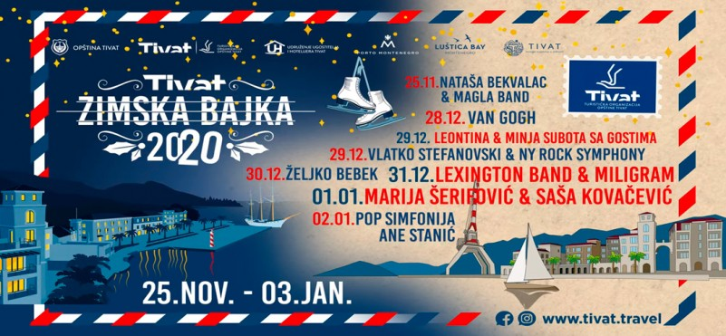 New Year events in Tivat