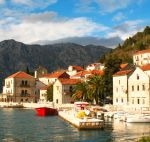 Town Perast and Boka Bay, Montenegro