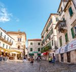 Square in the Old town Kotor, Montenegro