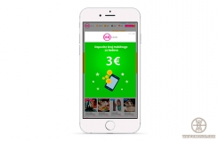 Top up mobile phone account on 3€