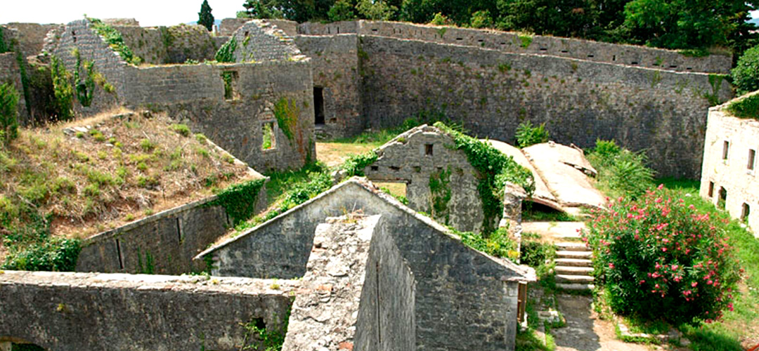 Fortress of Spagnola in Herceg Novi, Montenegro.