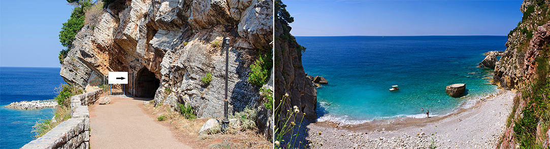 Beach near Petrovac