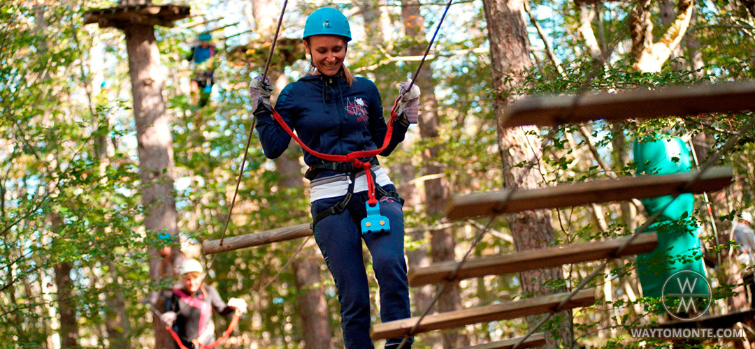 Adventure park in Lovchen