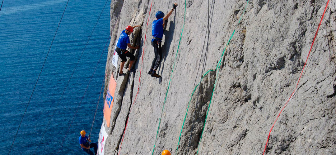 Alpinism and rock-climbing