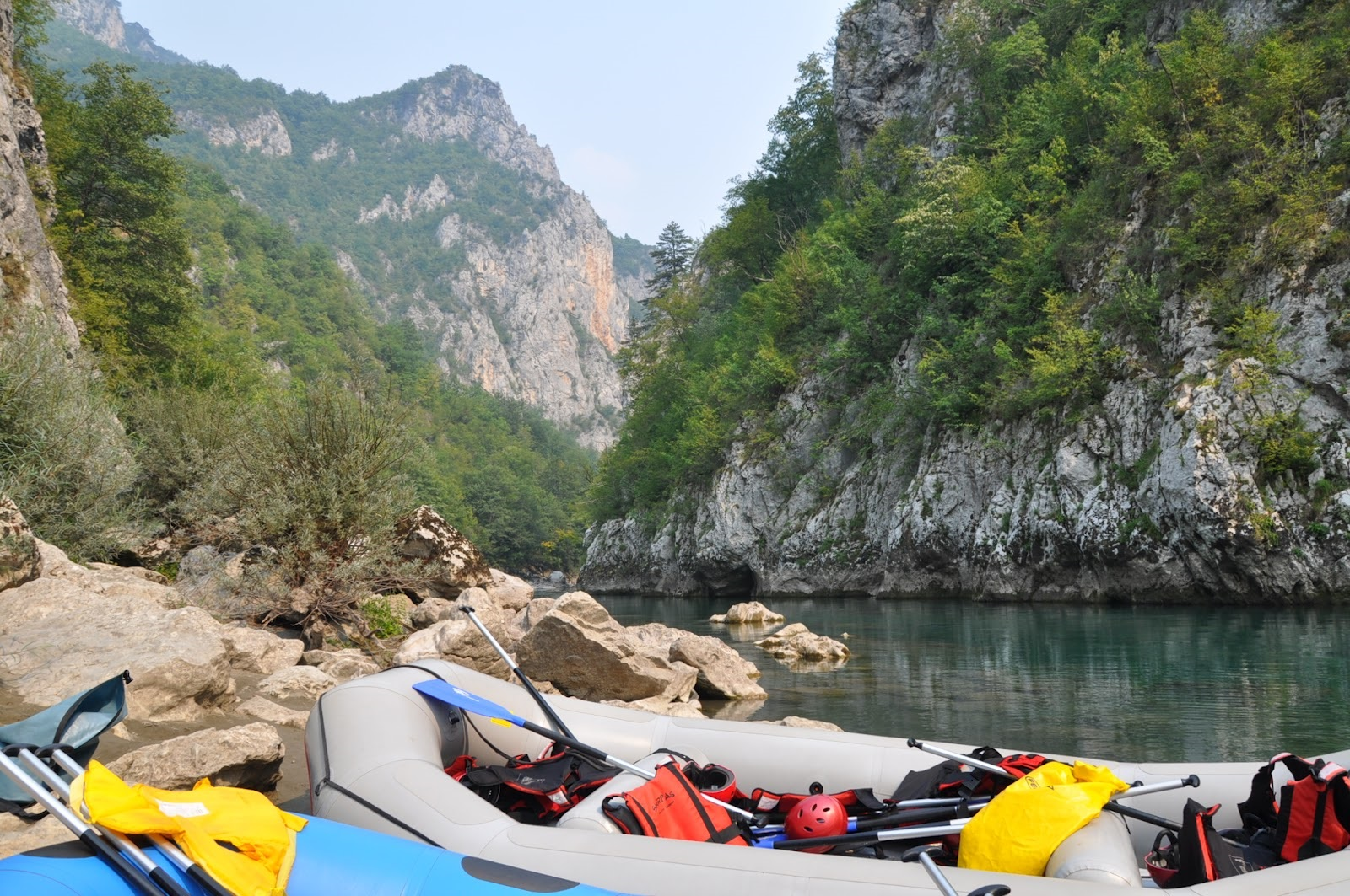Rafting is an opportunity to diversify your holiday in Montenegro.