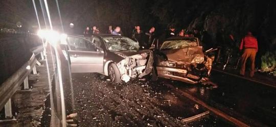 Traffic accident in Markovici