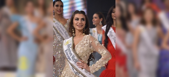 A representative of Montenegro becomes the winner of one of the nominations for the beauty contest Miss Tourism World 2017
