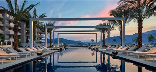 The Regent Porto Montenegro's swimming pool is part of the 30 most beautiful swimming pools in the world
