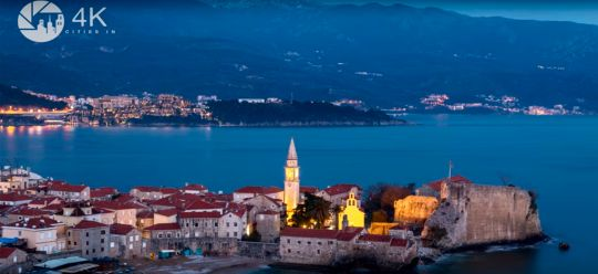 Beauty of Budva in 4K resolution