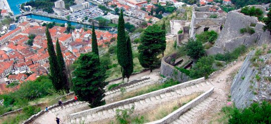 Fortress wall in Kotor has been visited by 35 420 tourists for two months