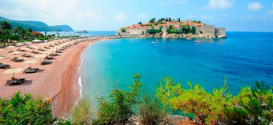 Montenegro identifies 12 types of beaches