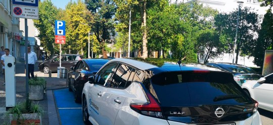 The first public charging station for electric vehicles was installed in Podgorica