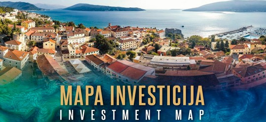 Presented Investment Map 15 Valuable Projects For Herceg Novi