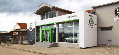Automobile salon Škoda