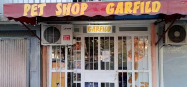 Pet shop Garfild