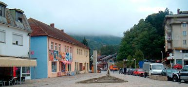 Bus station Mojkovac