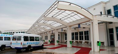 Bus station Niksic