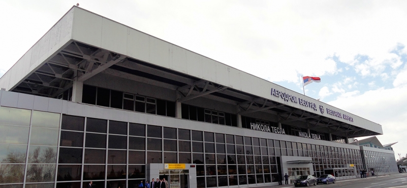 Nikola Tesla Airport in Belgrade
