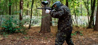 Paintball in National Park Lovcen