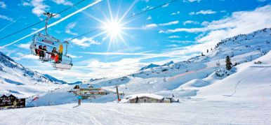 Mounting Skiing resort Savin Kuk in Zhabljak