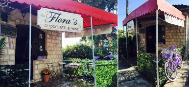 Cafe Floras Chocolate and Wine