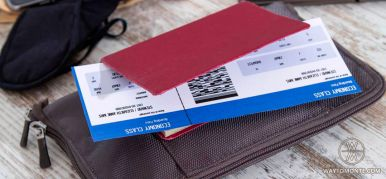 Do not throw away Your airline boarding pass!