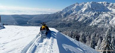 Snowmobiling in Montenegro