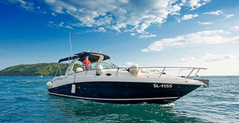 Photo Rent Sea Ray 375 Sundancer. Motor yacht. Rent in Montenegro