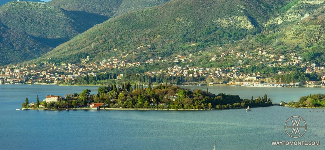 Остров цветов черногория как добраться