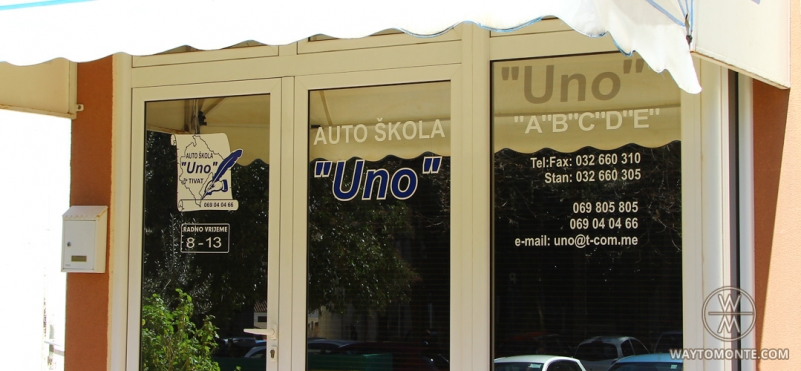 Auto school Uno.photo