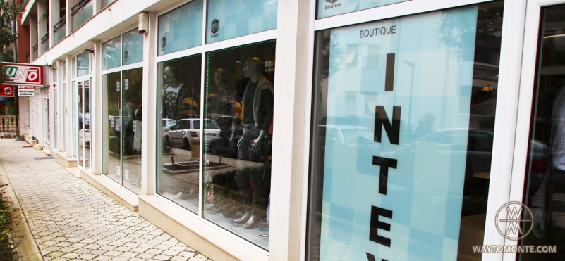 Clothing store Intex.photo