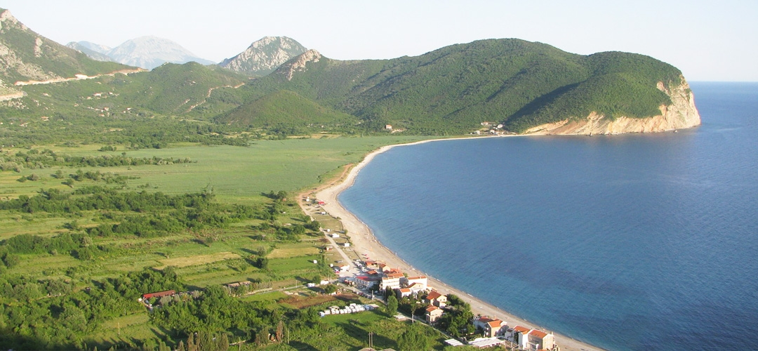 Buljarica Beach In Petrovac