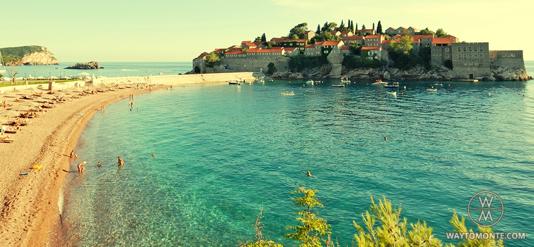 The Beach Of Saint Stephen Sveti