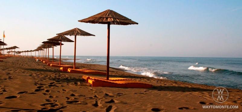 Nudist beach Ada Bojana
